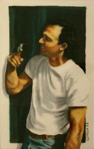 STEVE (24 x 18) PASTEL on PAPER